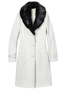 Tod's Fur-Trimmed Coat	  		  		  		Fall Clothes and Accessories 2012 - New Fall Looks 2012  		  		 - Marie Claire