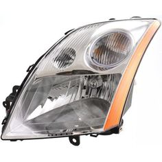 2007-2009 Nissan Sentra Head Light LH, Assembly, 2.0l Eng. - Capa