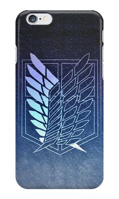 """【3000+ views】Attack on Titan: Scouting Legion Jiyu no Tsubasa II"" iPhone Cases & Skins by Ruo7in 