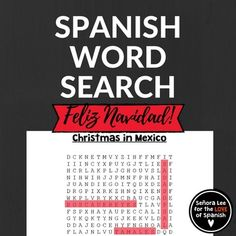 Introduce 12 key vocabulary words related to Christmas in Mexico and Las Posadas. Companion product for Teacher's Discovery Moo! Las Posadas: Christmas in Mexico video. Includes a key. Crossword puzzle and other activities also available. Vocab includes:Atole, El Da de Reyes, Feliz Navidad, Juan Diego, Misa de Gallo, Nacimiento, Nochebuena, Piata, Las Posadas, Rosca de Reyes, Tamales, Virgen De Guadalupe