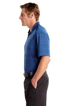 Buy the Nike Golf - Elite Series Dri-FIT Heather Fine Line Bonded Polo Style 429438 from SweatShirtStation.com, on sale now for $72.99 #businesscasual #nikegolfpolo #asi