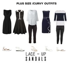 """""""PLUS SIZE / CURVY OUTFITS"""" by jessicasanderstx ❤ liked on Polyvore featuring Donald J Pliner, Alexander Wang, WithChic, Aquazzura, aprico, Lands' End, Breckelle's, City Chic, Studio 8 and Hobbs"""