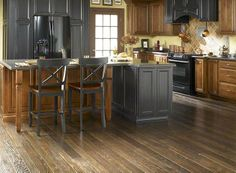 """- Hardwood Flooring in style """"Sleepy Hollow Oak"""" color Horseman by Shaw Floors for kitchen and living/dining room. Shaw Hardwood, Hardwood Floors In Kitchen, Kitchen Flooring, Plank Flooring, Stone Flooring, Vinyl Flooring, Flooring Ideas, Nebraska Furniture Mart, Oak Color"""
