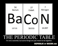 Nothing's funnier than the Periodic Table.