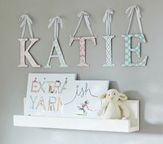 Printed Letters #Pottery Barn Kids