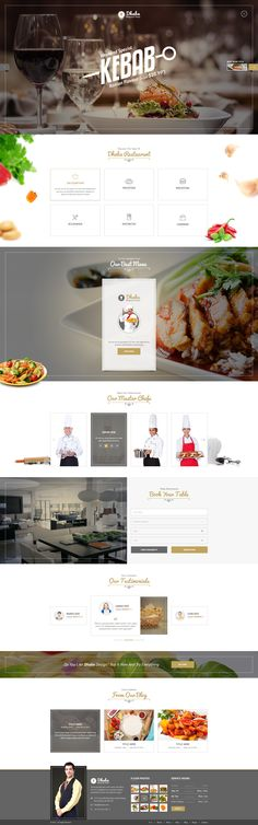 Dhaba is the perfect PSD design for restaurants, bakeries and coffee shops. This beautifully designed theme is ideal for showcasing your menu and presence. Dhaba is extremely clean with 3 different...