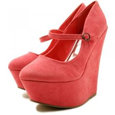 Diana Wedge Courts-Pink
