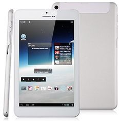 ICOO iCou7GT 7 inch Tablet PC Quad Core 2G 16G Android 4.1 Micro HDMI Ultra Thin White  $169.99