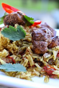 What's On The List: Delicious & easy Chicken Machboos Middle Eastern & North African Cooking Club highlighting Bahrain Cuisine