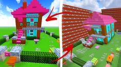 Minecraft: QUANTAS TNTS PRECISO PARA DESTRUIR UMA CASA FOFINHA?