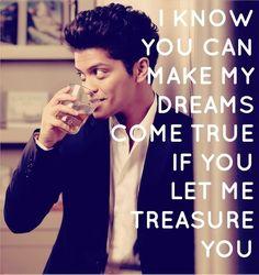 Treasure - Bruno Mars #lyrics