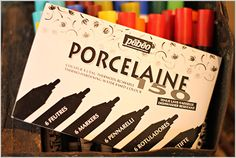 Porcelaine paint for dishes