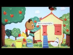 Bizzy Bear on the Farm App created by @nosycrowapps
