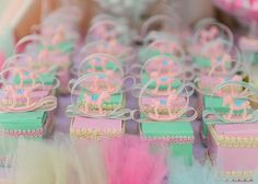 Baby shower details...made by my mom