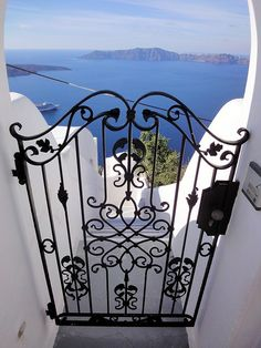 Sea Gate, Santorini, Greece