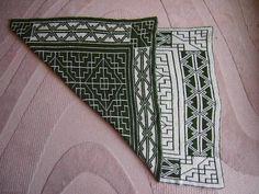 Ravelry: Kuikka's Reversible Celtic Patterns Baby Blanket