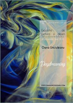 """Personal painting exhibition """"Daydreaming"""" #abstract #art #fantasy #artist #artwork #color #creative #fineart #illustration #paint #painting #wallart #artsy #composition #amazing #beautiful #picture #fun #feelingartsy #visualdiary #masterpiece #gallery #inspiration #newartwork Visual Diary, New Art, Composition, Abstract Art, Artsy, Wall Art, Feelings, Architecture, News"""