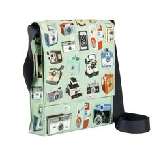 Messenger Bag Cameras - 95% post consumer recycled material. #ecofriendly #gogreen