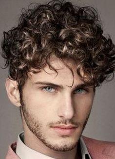 La moda en tu cabello: Cortes de pelo 2016 Peinados con rizos para hombres