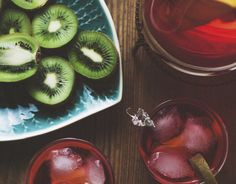 Perfect for summer sipping and backyard barbecues and ultra easy to make, this Strawberry-Kiwi Sangria recipe delivers fresh flavors in a hurry!