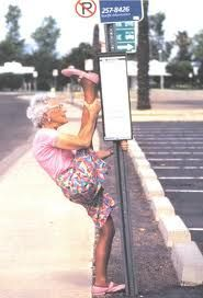 Ha, ha - hope I'm like this when I'm old. No wait, I can't even do this now @_@.