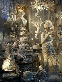 Christmas Window Displays at Bergdorf Goodman