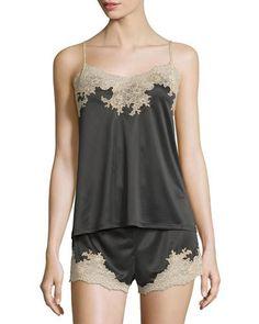 Natori+Enchant+Nightie+Two+Piece+Set+Black+Nightgown+|+Lingerie,+Underwear,+Clothing+and+Sleepwear