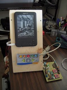 "Electrical engineer creates ""Frankenkindle"" for sister with Cerebral Palsy"