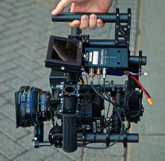 The absolute coolest camera rig ever made.  You have to watch the video.