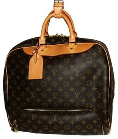 86cd18d87f2 Save on the Louis Vuitton Evasion Brown Monogram Weekend Travel Bag! This  travel bag is a top 10 member favorite on Tradesy.