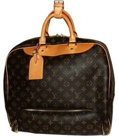 Louis Vuitton Luggage Evasion Golf Brown Travel Bag