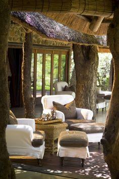 The beautiful five star-graded Dulini Lodge, Sabi Sand, Kruger National Park, South Africa