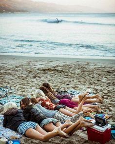 Best friends on the beach ♡