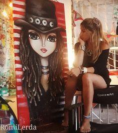 Art Pop, Kpop Drawings, Art Drawings, Mandala Art, Indian Women Painting, Abstract Face Art, Non Blondes, Fantasy Paintings, Art Abstrait