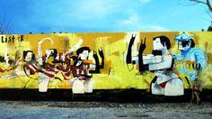 Anthony Lister Art Festival, Inspiration, Painting, Art, Street Art