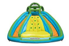 Little Tikes Rocky Mountain River Race BOUNCER, Outdoor Inflatable Water SLIDES