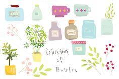 A Collection of Bottles by@Graphicsauthor