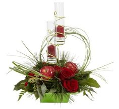 christmas arrangement ideas | More modern Christmas centerpieces | Dandelions Flowers & Gifts