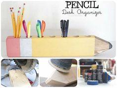 Come fare un matitone in legno #tutorial #backtoschool