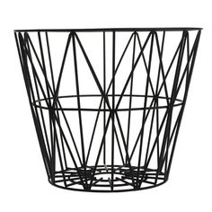 Ferm Living Wire Basket - M - Sort