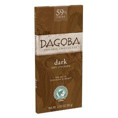 DAGOBA 59 Semisweet Dark Chocolate 283Ounce Bar Pack of 12 * BEST VALUE BUY on Amazon #GourmetChocolates