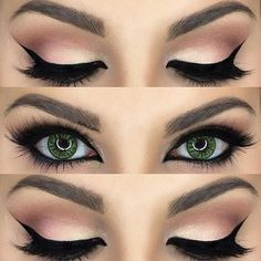 عيون جريئة2015 Arabic eye makeup