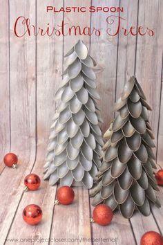 7 Árvores de Natal diferentes - você pode fazer igual - Reciclar e Decorar