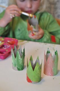 Mini crown craft for pint-sized kings and queens