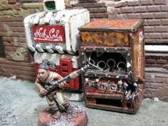 Fallout, Necromunda, Terrain, Vending Machine