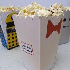 11th Doctor Popcorn Holder by ~F-A on deviantART
