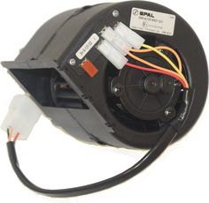 Centrifugal Blower Single 12V (119x128x113) SPAL #8002253 |   Lokab Systems, Specialized Air Conditioning Applications