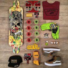 The new Bustin Nomad is the perfect City/Downhill board Custom Longboards, Custom Skateboards, Complete Skateboards, Skateboard Photos, Skateboard Deck Art, Skate Man, Vans Skate, Skate Street, Skater Outfits