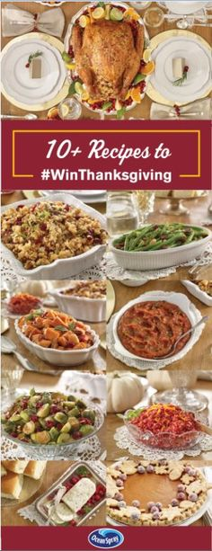 Master your #Thanksgiving #menu with these amazing recipes & more to #WinThanksgiving at OceanSprayThanksgiving.com
