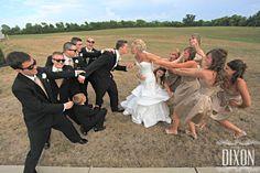 Wedding party photo. Copyright-photosbydixon